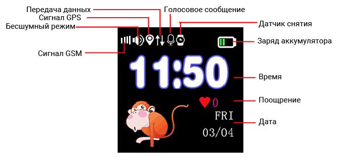Главный экран Q90