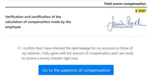 Official Personal Data Protection Fund - реальный отзыв