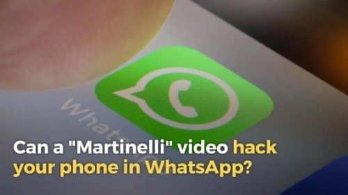 Видео MARTINELLI в WhatsApp